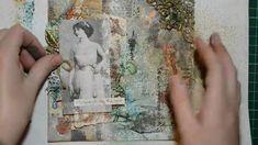 Vintage layout by Elena Zemlyanskaya