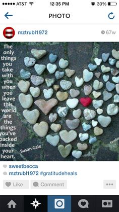 Here is a goal for my heart shaped rocks collection Heart In Nature, Heart Art, I Love Heart, Happy Heart, Hello Heart, Heart Pics, Jar Of Hearts, Wild Hearts, Heart Shaped Rocks