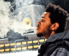 """hands down my favorite artist-the weeknd-real name """"abel tesfaye"""" his music is soooo good and unique. he works with drake, and is also from toronto at only 23 years old."""