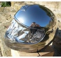 True specular chrome effect - Discover our easy-to-apply liquid mirror effect paint available in can or spray, delivery within 48 hours! Mirror Effect Paint, Chrome Spray Paint, Diy Car, Kitchen Aid Mixer, Helmets, Gadget, Painting, Dreams, Color