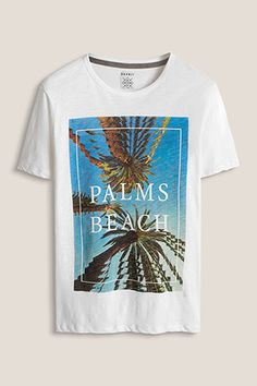 www.davidemartini.ink for Esprit / Jersey T-Shirt Print summer palms beach photoprint