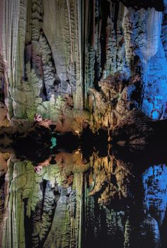 Silver Cave reflections - Yangshuo