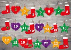 Historia adwentowego kalendarza