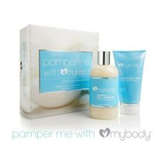 mybody Pamper Me - Revitalizing Citrus Coconut Bath + Shower Gel and Body Lotion