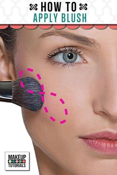 Do you want to know how to apply perfect blush? Let us show you how! Makeup lessons & 100's of DIY beauty projects.