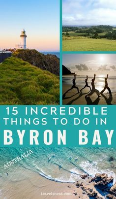 15 Things To Do In Byron Bay. Byron Bay is a scenic and beautiful destination with exciting attractions. It's one of Australia's most popular destinations, and one look at all the best things to do in Byron Bay. Top Travel Destinations, Holiday Destinations, Places To Travel, Travel Tips, Travel Ideas, Travel Plan, Travel Articles, Travel Goals, Travel Europe
