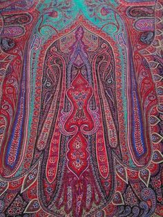 ETRO Multicolor Paisley Shawl