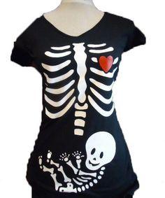 Original camiseta de rayos X para embarazadas