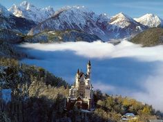One of my favorite places...Neuschwanstein castle in Bavaria.  I went in 2004 and have missed it ever since.
