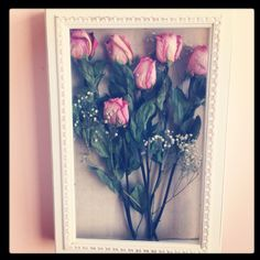 Preserved roses from your loved one perfect for decor!