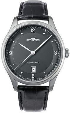 Fortis Watch Terrestis Tycoon Date P.M. #basel-15 #bezel-fixed…