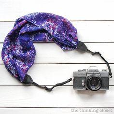 カメラ女子におすすめ!おしゃれなスカーフカメラストラップを簡単DIY♡   CRASIA(クラシア)
