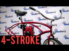 How To Install a 48cc 4-Stroke Engine Kit on your Bicycle by BikeBerrycom - 7723509bd