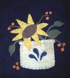 FallGlaze Wool Applique