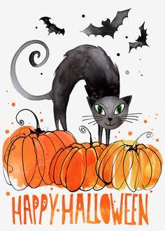 Magrikie : Illustration : fall / halloween