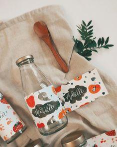 "Tanja von Die Handletterei's Instagram profile post: ""#handletteringmeetsillustration 📖✨ >>> Projekt: Fruchtige Etiketten 🙌🏻 #watercoloraddict #watercolorpattern . . . #watercolorillustration…"""