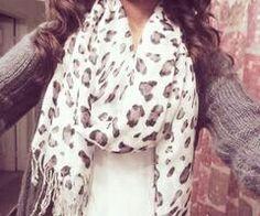#Nice scarf ,panterprint.