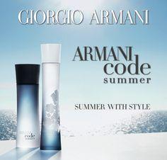 Verano con estilo con este lanzamiento exclusivo de Ripley: Armani Code Summer de #GiorgioArmani