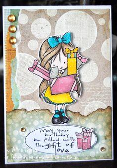 AliCards: Birthday girl