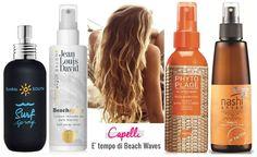 beach waves, capelli, prodotti, bumble and bumble, jean louis david, nash argan, phyto plage