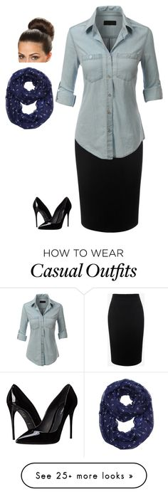"""""""Casual -Ella"""" by modest-styles-by-hannah on Polyvore featuring Alexander McQueen, LE3NO and Dolce&Gabbana"""