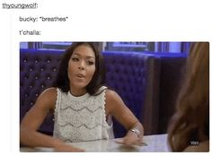 """Whenever they had the perfect gif on hand. 