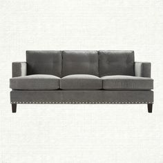View The Flanders Sofa From Arhaus Embracing Soft Gray Palette And Minimalist Roach Of This Por Style Our Collectio Is Swathe
