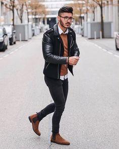 Macho Moda - Blog de Moda Masculina: Por que você PRECISA de mais Roupas em TONS TERROSOS? 5 Provas IMPOSSÍVEIS de ignorar! Stylish Men, Men Casual, Smart Attire, Style Urban, Moda Blog, Men With Street Style, Men Street, Herve, Mens Style Guide