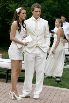 White Party - Blair and Marcus