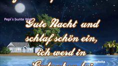 Gute Nacht🌛kleine Sterne, die sich verstecken🎇sie behüten Dich✨wollen sü...