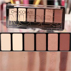 Catrice Nude Palette - Very cost effective kit that I use for highligting and filling brows
