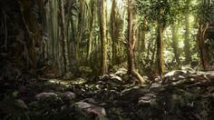 Afternoon-Woods by Alexlinde.deviantart.com on @deviantART