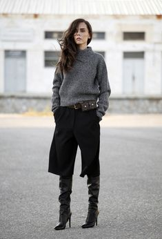 Culottes in the winter