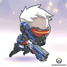 Enjoy this tall Spray of your favorite Overwatch character, in sticker FORM! Game Character, Character Concept, Concept Art, Character Design, Chibi Overwatch, Overwatch Memes, Kawaii, Avatar, Chill