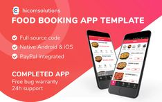 Buy Food ordering iOS App Template by HiComSolutions on CodeCanyon. Food ordering app is completed app template in native source code of iOS that helps you build restaurant booking apps.