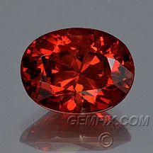 orange red flame Spinel 1.46ct $875 red hot/deep orange gorgeous