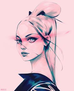 """12.9k Likes, 42 Comments - Ross Tran (@rossdraws) on Instagram: """"Sketch experimenting with Nima! Wanted to play with impact in a simple way  Recorded this tutorial…"""""""