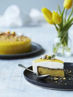 Lemon Lime, Marzipan, Yummy Cakes, How To Make Cake, Oreos, Cookie Dough, Nutella, Bakery, Cheesecake