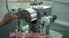 Rolling Hot Stamping Machine for Caps