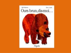 Our brun, dis-moi. slideshare of entire story in French (Brown Bear, Brown Bear by Eric Carle) Read In French, French Kids, How To Speak French, Learn French, Eric Carle, French Teaching Resources, Teaching French, Parda, French Colors