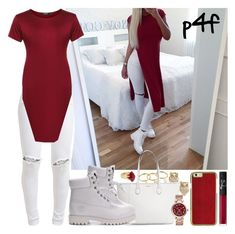 Passion 4Fashion: Soooooo bored rn :/ by shygurl1 on Polyvore featuring polyvore, mode, style, FiveUnits, Kate Spade, Michael Kors, Rebecca Minkoff, Lola Rose, NARS Cosmetics, Karlsson and Timberland