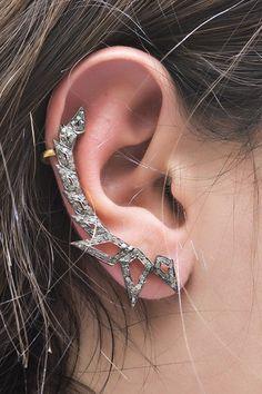 Champagne Diamond Ear Cuff - 1.20 ctw by Jewels By Lori K on @HauteLook