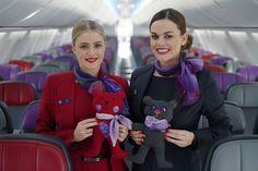 Virgin Australia put old crew uniforms to good use