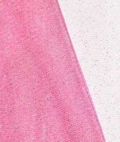 Bubblegum Pink Glitter Tulle