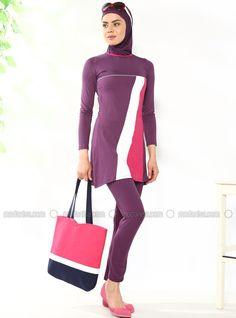 dacdae5abc4b5 Burkini   Islamic Covered Swimsuit Models - Modanisa.com
