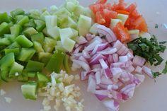 gesneden groenten