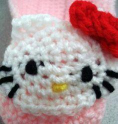 http://hodgepodgecrochet.wordpress.com: Free Pattern—Hello Kitty Applique
