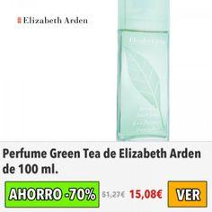 Perfume Green Tea de Elizabeth Arden. #ofertas #descuentos