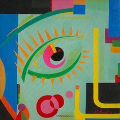 pittura astratta geometrica - Cerca con Google