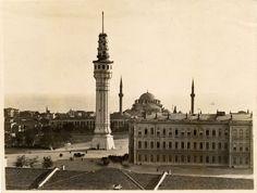 Beyazit Fire Tower, Istanbul - Beyazıt Yangın Kulesi.